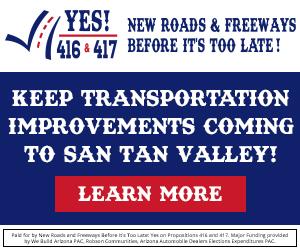 Keep Transportation Improvements coming in San Tan Valley